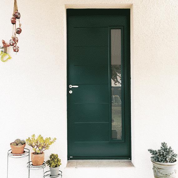 Porte d'entrée PVC Linconyl